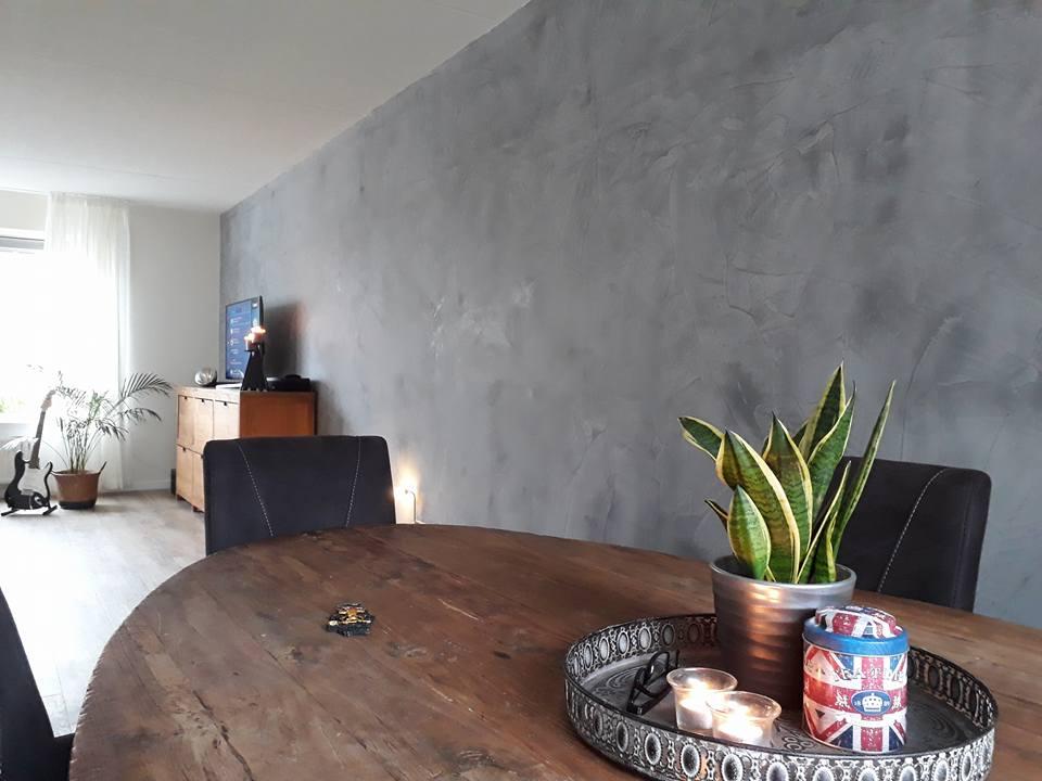 Betonlook wand en muur bouwbedrijf bruinenberg